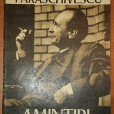 AMINTIRI-MIRON RADU PARASCHIVESCU