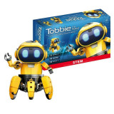 Robot inteligent Tobbie, galben, Gonga
