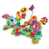 Set de constructie Learning Resources - Gears! Floral 117 piese