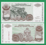 = CROATIA – 500 000  DINARI – 1993 – FOARTE RARA - UNC   =