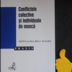 Conflictele colective si individuale de munca Monna-Lisa Bellu Magdo