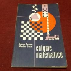 GEORGE GAMOW - ENIGME MATEMATICE