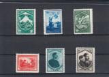 ROMANIA 1934 LP 98 JAMBOREEA NATIONALA SIBIU SERIE MNH, Nestampilat