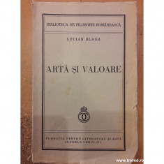 Arta si valoare