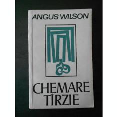 AUGUS WILSON - CHEMARE TARZIE