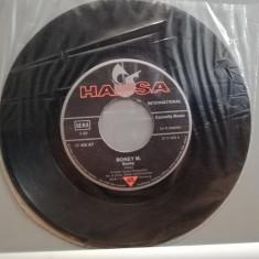 """BONEY'M - SUNNY/NEW YORK CITY (1977/HANSA/RFG) - VINIL""""7 -Single/Stare : VG+, Hansa rec"""