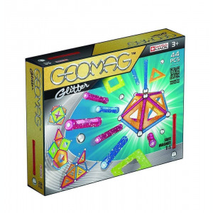 Set de constructii Geomag Magnetic Glitter 44
