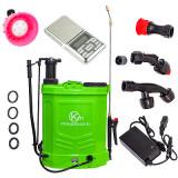 Pompa Stropit Electrica+Manuala 16L,Acumulator|Manometru|+Cantar De Precizie