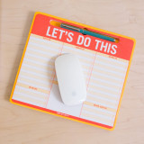 Pen-to-Paper Mousepad - Let's Do This | Knock Knock