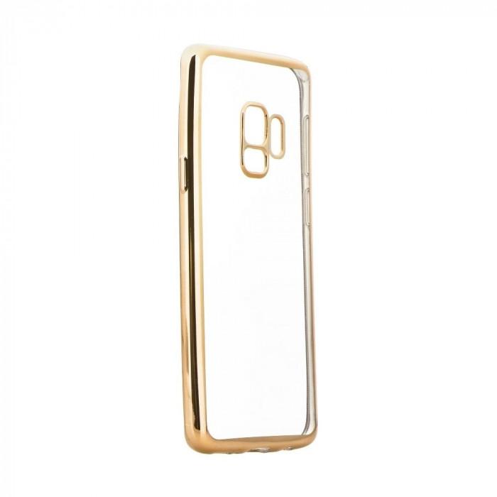 Husa SAMSUNG Galaxy S9 - Shiny Side TSS, Auriu