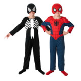 Costum reversibil 2 in 1 Marvel Spiderman Ultimate, L, 7 - 8 ani