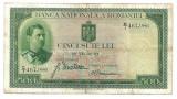 500 lei 1934 Carol II