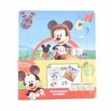 Cumpara ieftin Set de colorat cu puzzle-uri Mickey