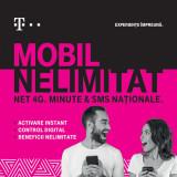 Cumpara ieftin Cartela SIM Prepay Telekom MOBIL NELIMITAT cu INTERNET, MINUTE SI SMS NATIONALE NELIMITATE