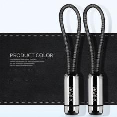 Cablu Date Si Incarcare Samsung Huawei Allview Micro USB Tip Breloc Negru