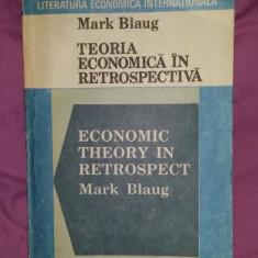Teoria economica in retrospectiva  / Mark Blaug