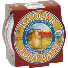 Mini balsam pentru picioare obosite, calcaie crapate, Foot Balm Badger, 21 g