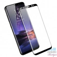 Folie Sticla Protectie Display Samsung Galaxy S9 G960 Acoperire Completa Neagra