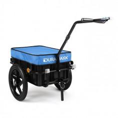DURAMAXX Big Blue Mike sarcini remorcă biciclete mare de remorcare 70L albastru