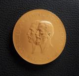 Medalie Regele Carol I - 1906 - varianta mare - Expozitiunea din Bucuresti