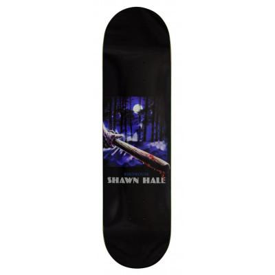 """Deck Skateboard Birdhouse Pro Hale Silver Bullet Black 8.25"""" foto"""