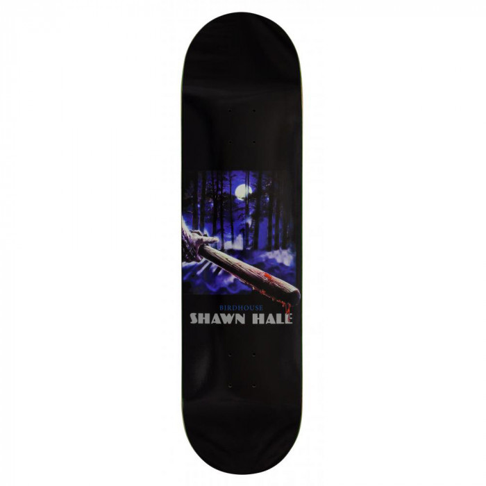 "Deck Skateboard Birdhouse Pro Hale Silver Bullet Black 8.25"""