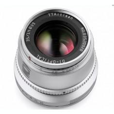 Obiectiv TTArtisan 35mm F1.4 Silver pentru Sony E-Mount