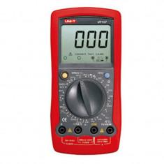 Multimetru digital UT 107, masurare acumulator, masurare turatie
