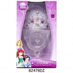 Set diadema si bijuterii Printesele Disney, 3 ani+