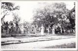 Bnk foto - Sapanta - Cimitirul Vesel - 1978, Alb-Negru, Cladiri, Romania de la 1950