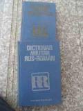 Dictionar Militar Roman-rus - Colonel Checiches Laurentiu ,536333