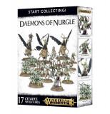 Set Miniaturi Warhammer AOS, Start Collecting! Daemons of Nurgle