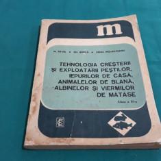 TEHNOLOGIA CREȘTERII ȘI EXPLOATĂRII PEȘTILOR,IEPURILOR, ANIMALELOR DE BLANĂ/1977
