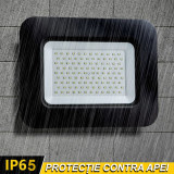 Proiector LED 100W (600W) premium,8500 lumeni, lumina calda 2800K