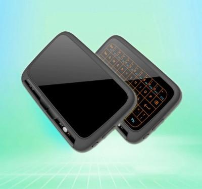 Tastatura Telecomanda SMART touch pad Led fara fir nano USB Li-Ion TV/PC/consola foto