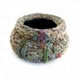 Cumpara ieftin Decoratiune gradina, ceramica, ghiveci, 43x43x22 cm, Strend Pro
