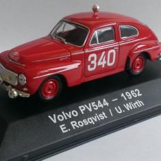 Macheta Volvo PV544 #340 Rally Monte Carlo 1962 - Atlas 1/43 (Raliu)