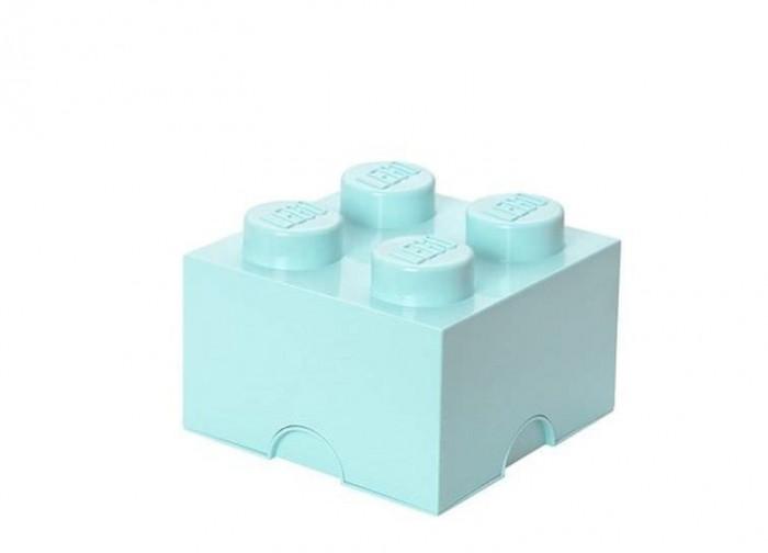 Cutie depozitare LEGO 2x2 - Albastru aqua