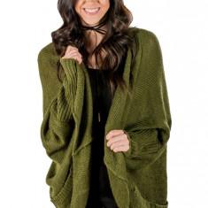 L656-120 Cardigan tricotat model lejer cu buzunare, L, M, M/L, S/M