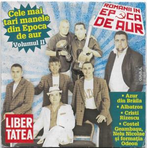 CD Cele Mai Tari Manele Din Epoca De Aur (Volumul II), original, holograma