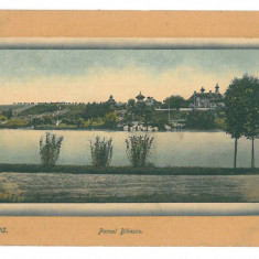 4204 - CRAIOVA, Bibescu Park, Romania - old postcard - used - 1913, Circulata, Printata