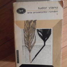 Arta Prozatorilor Romani Vol.1-2 - Tudor Vianu ,531059
