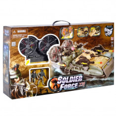Vehicul hovercraft militar Soldier Force, baterii incluse