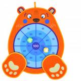 Joc Darts Scratch cu arici pentru copii, Ursulet