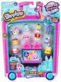 Cumpara ieftin Shopkins, pachet 12 figurine, colectia Europa Pink, Moose