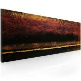 Tablou pictat manual - judecata de apoi - 100 x 40 cm, Artgeist