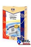 Sac aspirator Samsung VP77, sintetic, 4X saci, K&M
