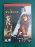 Regele leu - The Lion King - Colectie 4 DVD dublate in romana