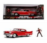 Macheta metalica - Freddy Krueger, 1958 Cadillac Model 62, 1:24