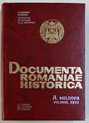 DOCUMENTA ROMANIAE HISTORICA - B. TARA ROMANEASCA , VOLUMUL XXXVII ( 1652) , volum intocmit de VIOLETA BARBU ...FLORINA MANUELA CONSTANTIN , 2006 foto